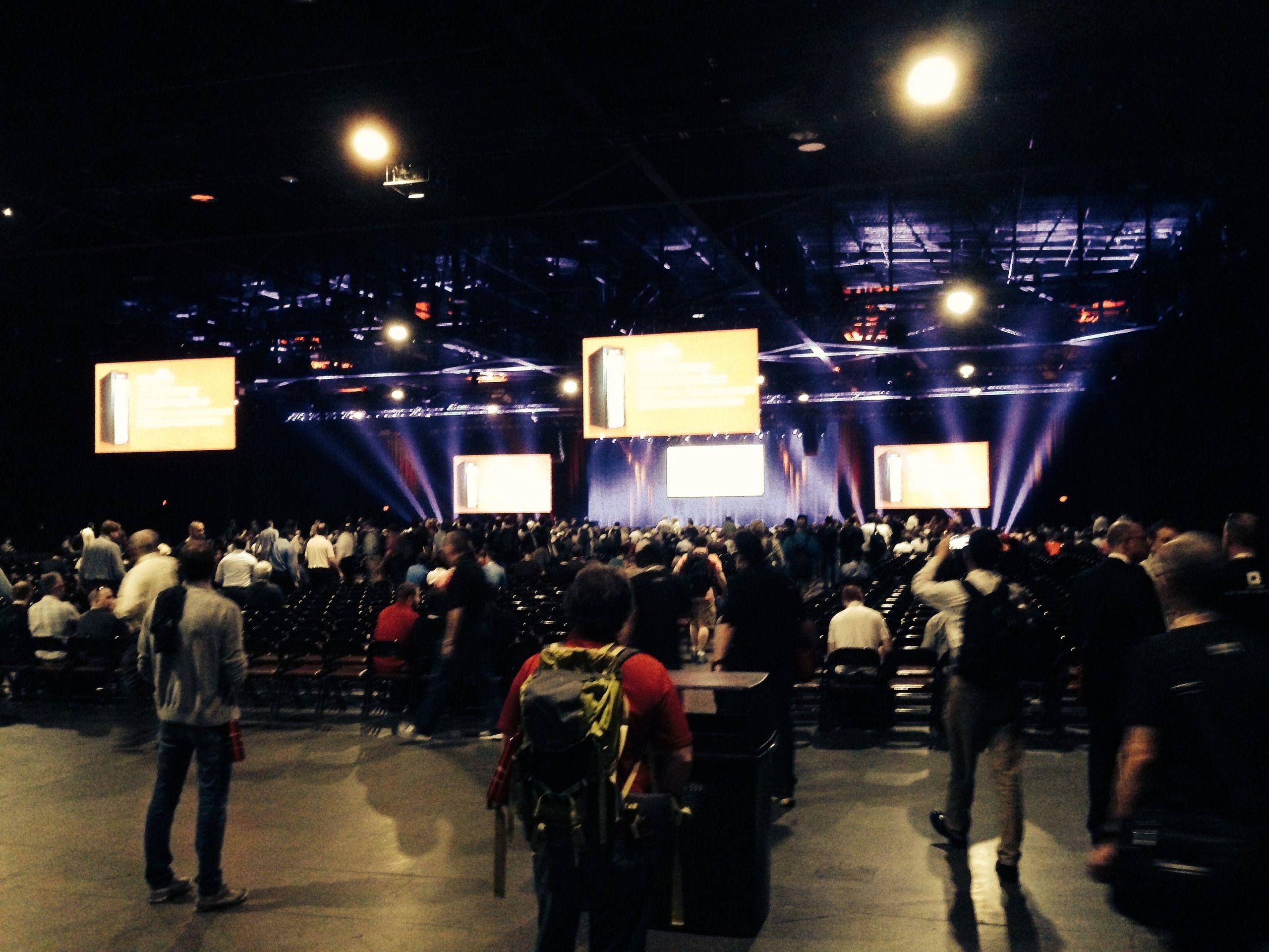 Große Teilnehmerzahl bei Keynote