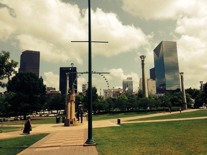 Downtown von Atlanta on Sebastian Helzle's Blog