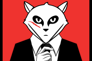 The Gitlab fox on Sebastian Helzle's Blog